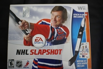 NHL Slapshot box art