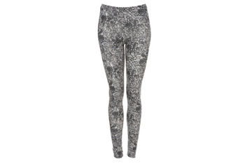 Lace pattern leggings from Topshop.com, $40