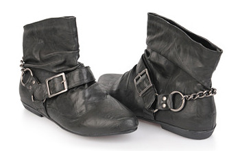 Buckled ankle boots from Forever21.com, $27.80