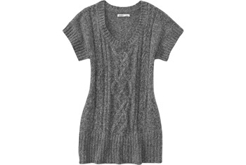 Cable-knit tunic from Oldnavy.com, $34.50