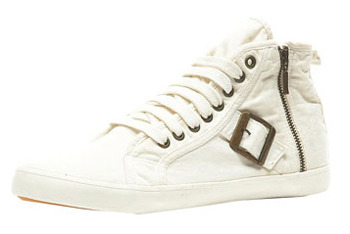Tucker Washed canvas trainers from Topshop, $44
