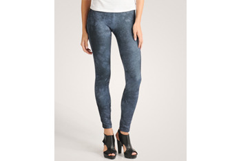 Marbled zipper leggings from Forever21.com, $17.80
