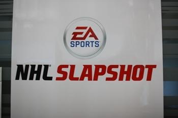 NHL Slapshot poster