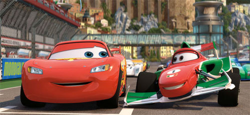 Lighting McQueen and Francesco Bernoulli
