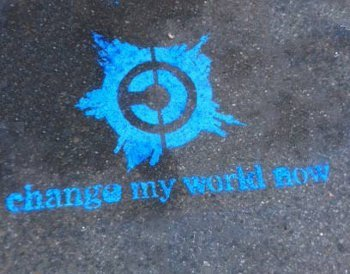 Change my world Logo