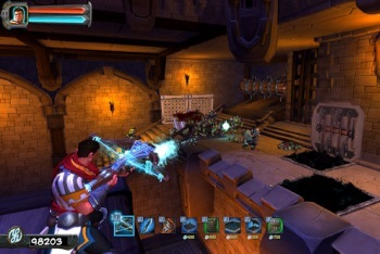 Orcs Must Die! Screenshot crossbow War Mage