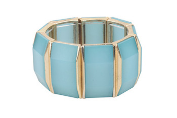 Aqua cuff, $7.80, at Forever 21