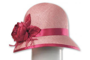 Emily cloche hat, $245, by Louise Green