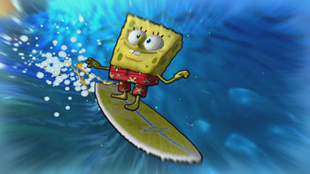 SpongeBob Surfing