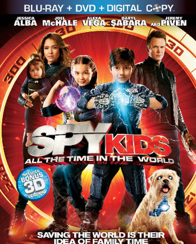 Spy Kids: All the Time in the World on DVD