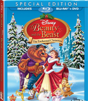 Beauty and the Beast: Belle's Magical World and Beauty and the Beast: The Enchanted Christmas on DVD   Blu-Ray