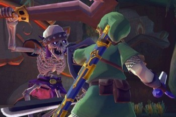 The Legend of Zelda: Skyward Sword screenshot fighting stalfo