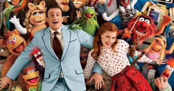 The Muppets stars Jason Segel and Amy Adams