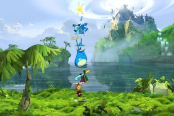 Rayman Origins screenshot team pyramid