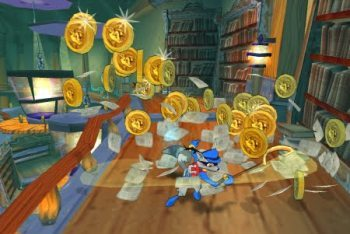 Sly Cooper and the Thievius Raccoonus screenshot collectibles