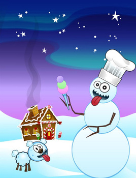 Make-A-Snowman :: iPhone App Review