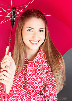 Pick a bright umbrella!