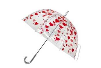 I Heart Umbrellas umbrella, $29.99, at ModCloth.com