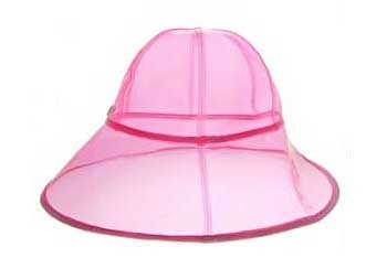 Juicy Couture pink rain hat, $30, at ASOS.com