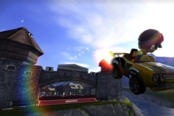 Mod Nation Racer screenshot big air jump