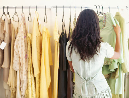 Vintage shopping is a great way to find one of a kind items!
