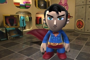 Mod Nation Racer screenshot custom character superman