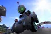 Mod Nation Racer screenshot, clank replica racing