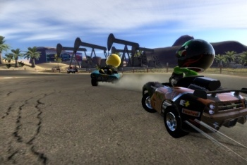 Mod Nation Racer screenshot racing