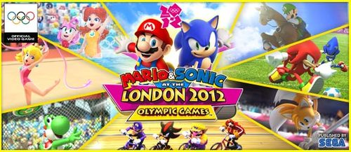 Mario and Sonic At The London Olympics Wii Game