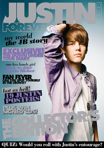 Justin Bieber's Magazine Covers