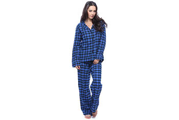 Blue plaid pajama set, $18.80, at Forever21.com