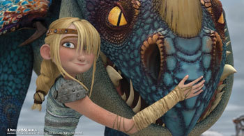DREAMWORKS DRAGONS Double DVD and Video Game
