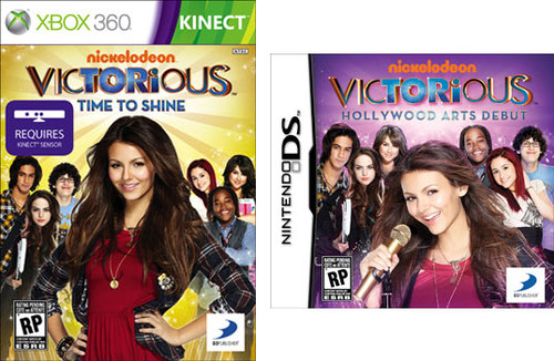 Victorious™: Time to Shine and Victorious™: Hollywood Arts Debut
