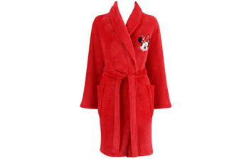 Minnie Mouse robe, $17, at Peacocks.co.uk