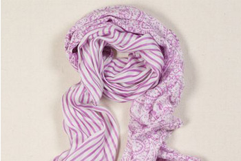 Gauzy Striped Scarf, $19.50, American Eagle