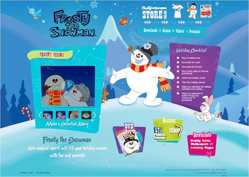 FrostyTheSnowman.com