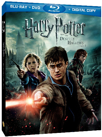 Harry Potter and The Deathly Hallows Part 2 Blu-ray