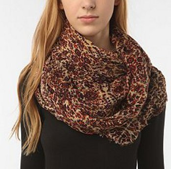 Chunky Patterned Scarf, $38 at Urban Outfitters