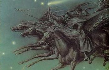 """Some scholars say Yule is related to the Old Norse folktale """"The Wild Hunt""""."""