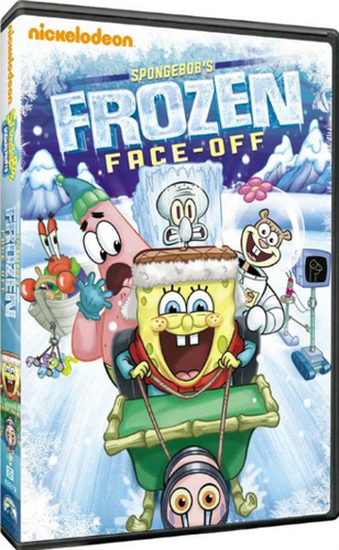 SpongeBob SquarePants: SpongeBob's Frozen Face-Off on DVD