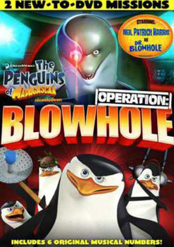 Penguins of Madagascar: Operation Blowhole on DVD