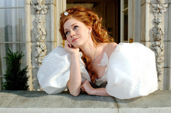 Amy starred in the live action/animated Disney movie Enchanted