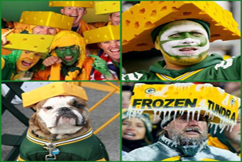 Cheeseheads in Green Bay