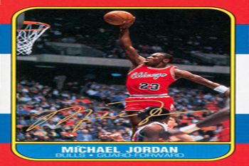 MJ Rookie Card