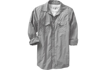 Men's Patterned Western Shirt, Old Navy, $24.50