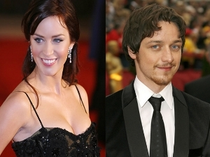 Emily Blunt and James McAvoy