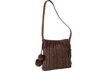 Cable knit cross-body tote bag, $12, at OLDNAVY.com