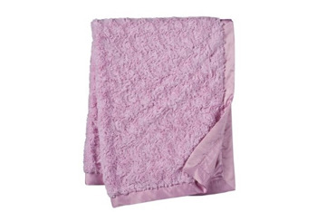 Furry pink blanket, $13, from Target.com