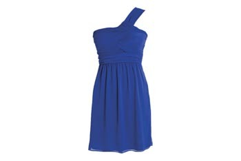 Alexis one-shoulder dress, $44.50, at Delias.com