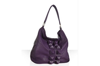 Deux Lux purple bag, $50, at Bluefly.com